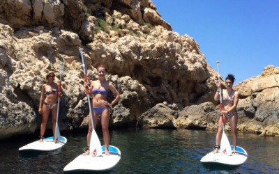 Explore Ibiza with paddle surf