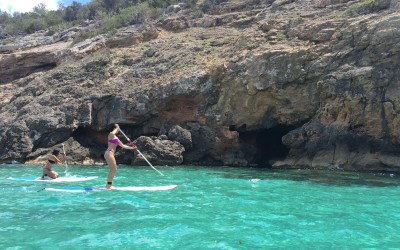 Stand Up Paddle Surfing trip in Ibiza