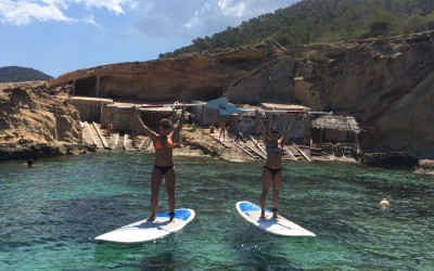 Excursiones de Paddle Surf en Ibiza