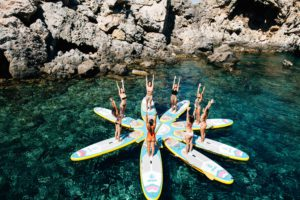 Stand Up Paddle Surf en Ibiza